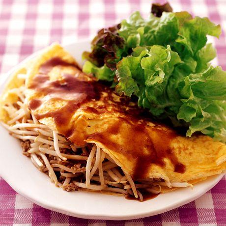 バインセオ風ミートオムレツ   藤井恵さんのオムレツの料理レシピ   プロの簡単料理レシピはレタスクラブニュース