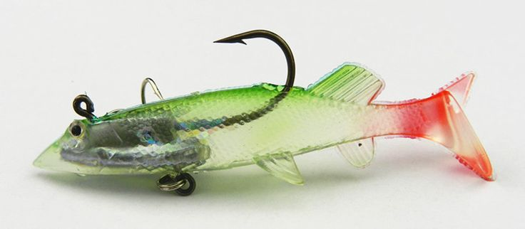 soft plastic fishing lure 20pcs wholesale fishing tackle 10CM 20G Silicone baits shad soft lures