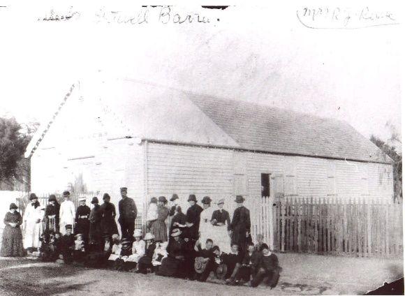 SL 183d - Barracks in Main St., Stawell Historical Society.