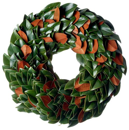 The Original Fresh Magnolia Wreath Our original magnolia collection is year after year our very best seller. Beautiful stems, fresh cut from the farm are handcrafted to reveal the vibrant glossy green