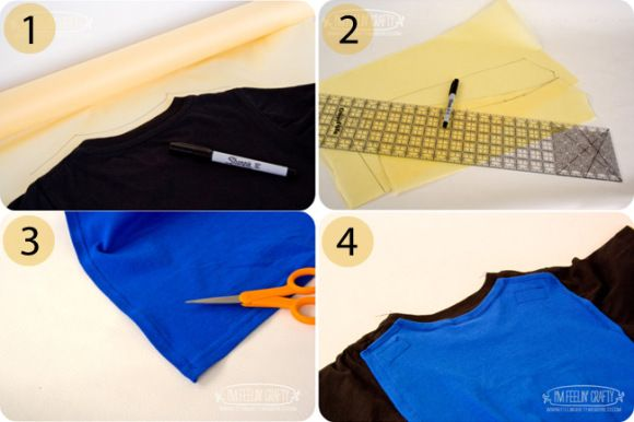 Guest Tutorial: Sew Your Own Superhero T-Shirt Cape!   Go To Sew