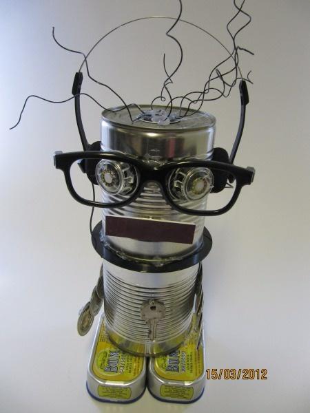Robots echt iets voor Teun!