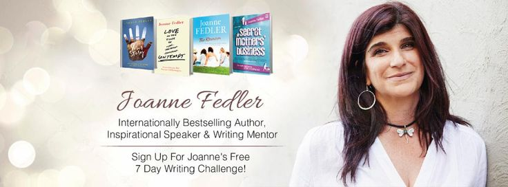 Free seven day writing challenge with Joanne Fedler. I'm doing it. Sign up here  https://hu104.isrefer.com/go/jopinterest/RosemarySL/