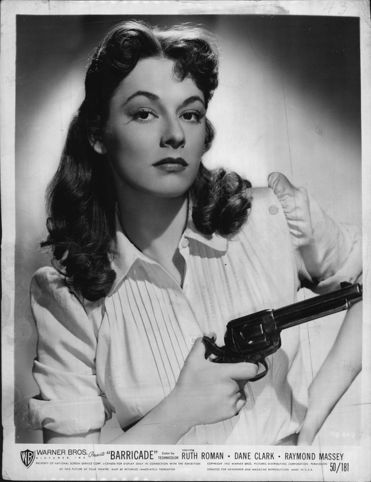 Ruth Roman Of Many Movies She Was In Strangers On A: ☼Movie Stars...Then & Now