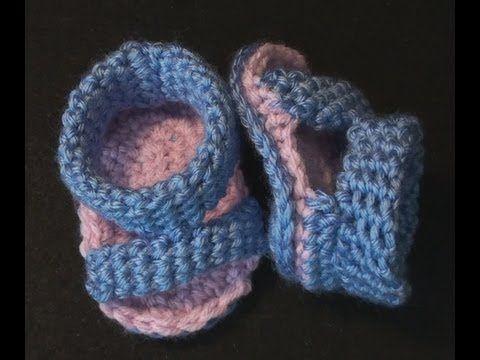 Crochet Geek - Crochet Baby Sandal