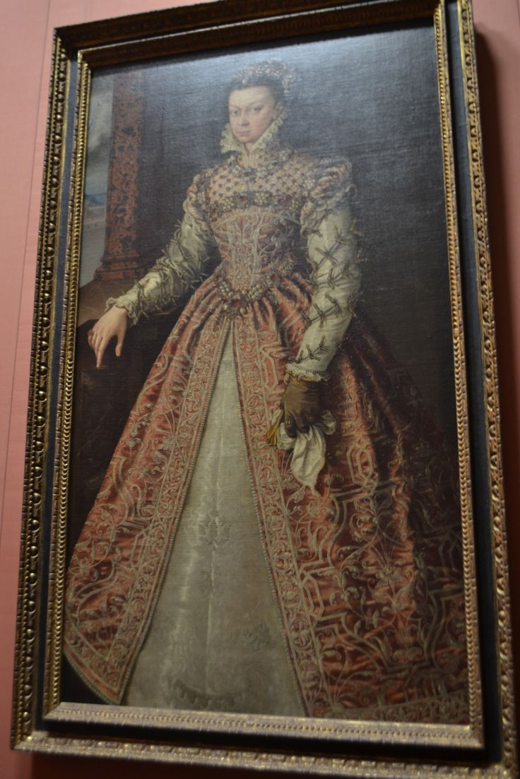 Elisabeth of Valois, Queen of Spain, about 1560, Alonso Sanchez Coello