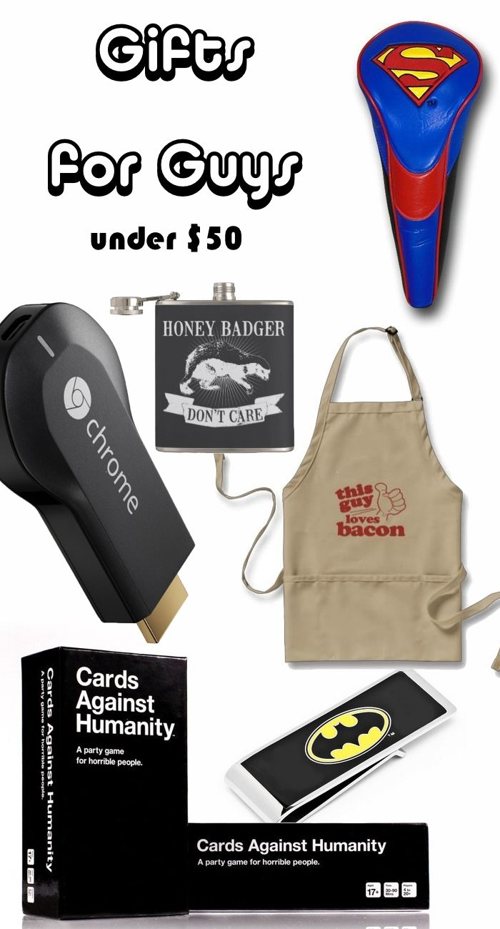 Cool Gifts for Guys Under $50