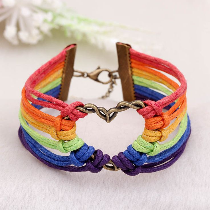 "2016 Pulsera Gay Pride multicolor ""PRIDE""leather bracelets Hot COLOR jewelry Lesbian LGBT bracelets for Men and Women collares♦️ B E S T Online Marketplace - SaleVenue ♦️ http://www.salevenue.co.uk/products/2016-pulsera-gay-pride-multicolor-prideleather-bracelets-hot-color-jewelry-lesbian-lgbt-bracelets-for-men-and-women-collares/ US $15.29"