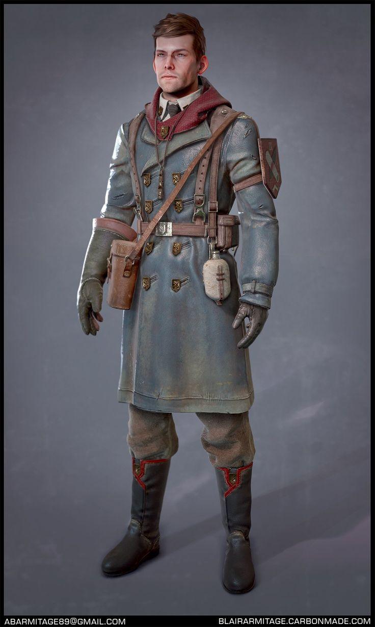 ArtStation - Falcon Scout, Blair Armitage