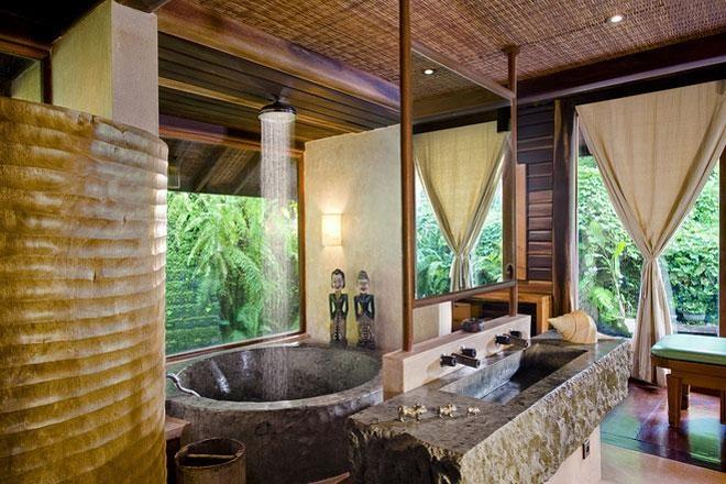 Hawaiian Style Bathroom Way Cool Bathrooms Pinterest