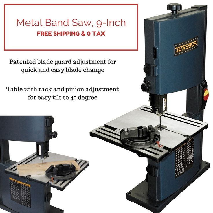Metal Band Saw Vertical Wood Cutting Blade Home Copper Brass Shop Garage Tools #POWERTEC #sharpsaw #cordless #bandsaw #solid #hinge #wheel #speed #morse #portable #short #wood #home #shop #tilting #delta #vermont #american #klutch #made #scroll #thin #package