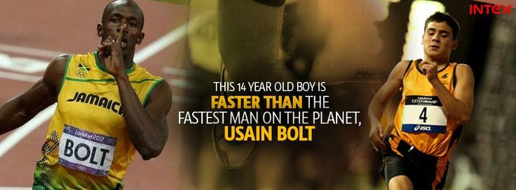 #JamesGallaugher Fourteen-year-old Australia schoolboy James Gallaugher has entered record books by upstaging Usain Bolt's 200-metre record when the Jamaican was 14.  He ran 200m in 21.73 seconds this weekend, which not only is a record for his age group but is also about 0.08 sec faster than Bolt's record as a 14-year-old.