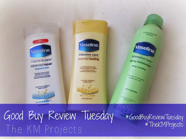 TheKMProjects: Good Buy Review Tuesday - Vaseline Intensive Care