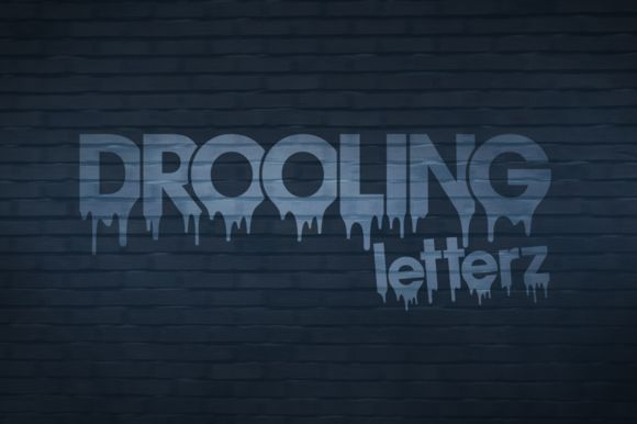 Drooling Letterz - Branding Symbols by SymonDesign on Creative Market