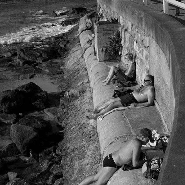 Siesta on Manly Beach, Sydney - photojourmalism by Catalin Anastase