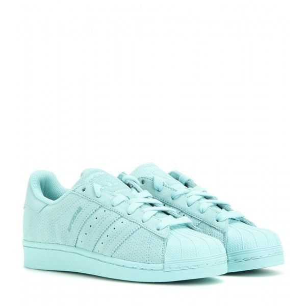 Adidas Superstar Leather Sneakers (149 AUD) ? liked on Polyvore featuring  shoes, sneakers