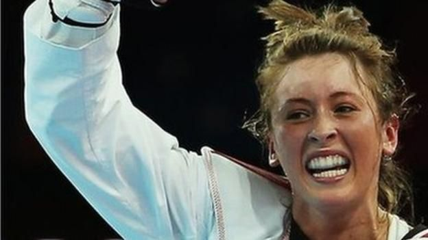 Jade Jones wins Olympics taekwondo gold