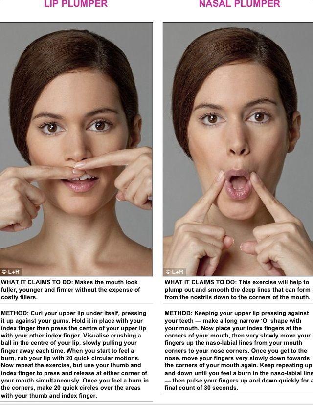 Facial Exercising 31