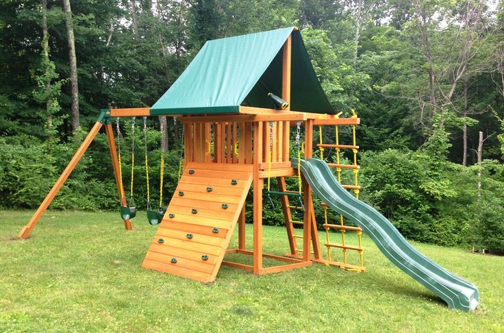 17 Best images about Swing Set Installations on Pinterest