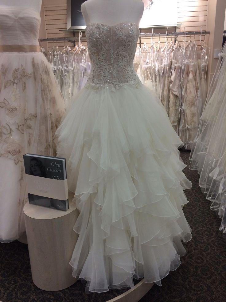 Oleg Cassini wedding dress. this is my wedding gown!! Yaayyyy