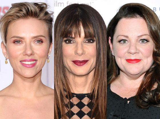 People's Choice Awards 2016 Nominees: Scarlett Johansson, Melissa McCarthy and Sandra Bullock Lead the Pack  Melissa McCarthy, Sandra Bullock, Scarlett Johansson