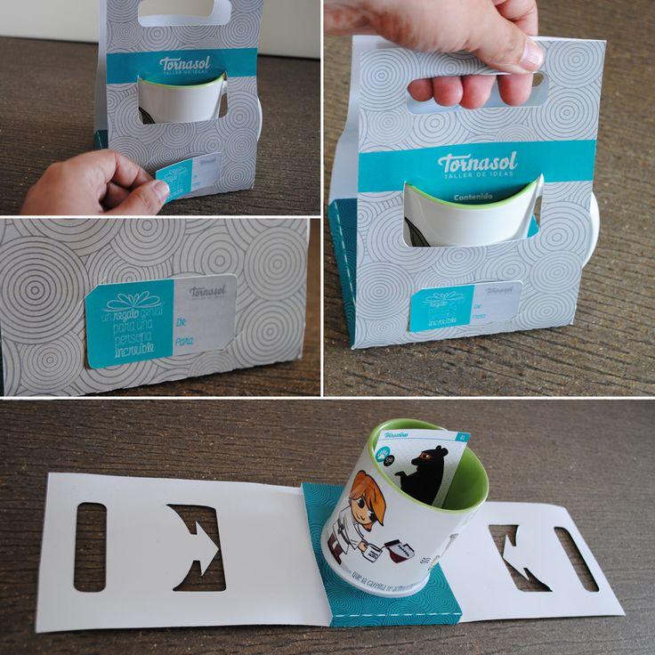 Nuevo empaque para nuestras tazas :D