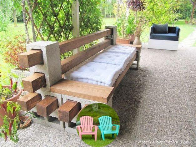 Wood Patio Furniture In 2020 Diy Patio Backyard Patio Diy