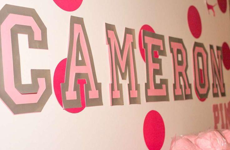 Victoria Secret Party Ideas | Victoria's Secret Pink Birthday Party Ideas | Photo 10 of 11 | Catch ...