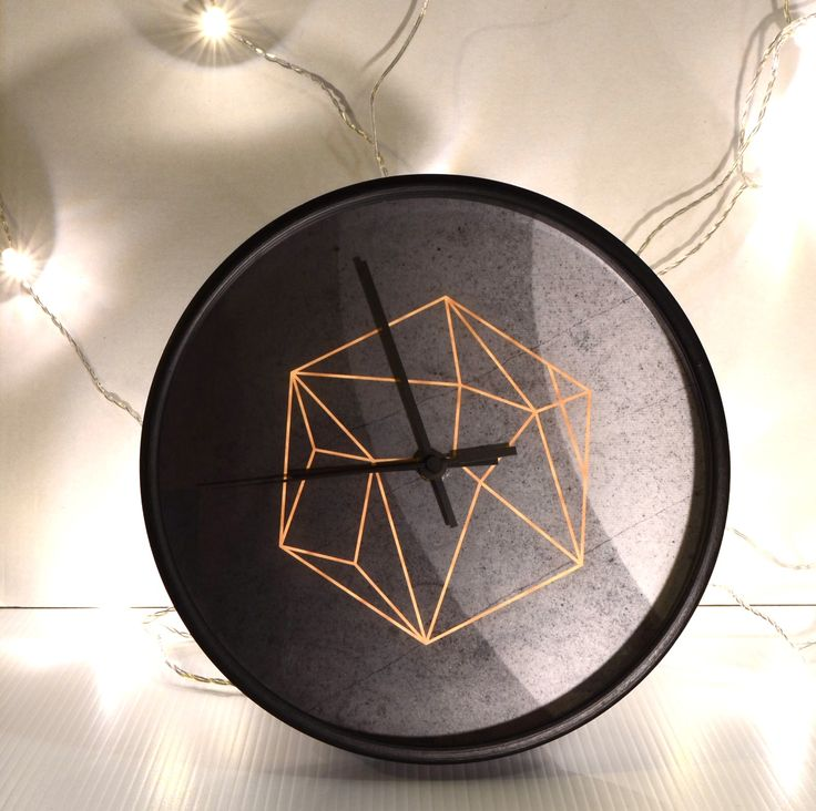 Beautiful in its simplicity, this gorgeous clock will bring a touch of class to your home. Available at www.dalaur-creative.com #Dimension