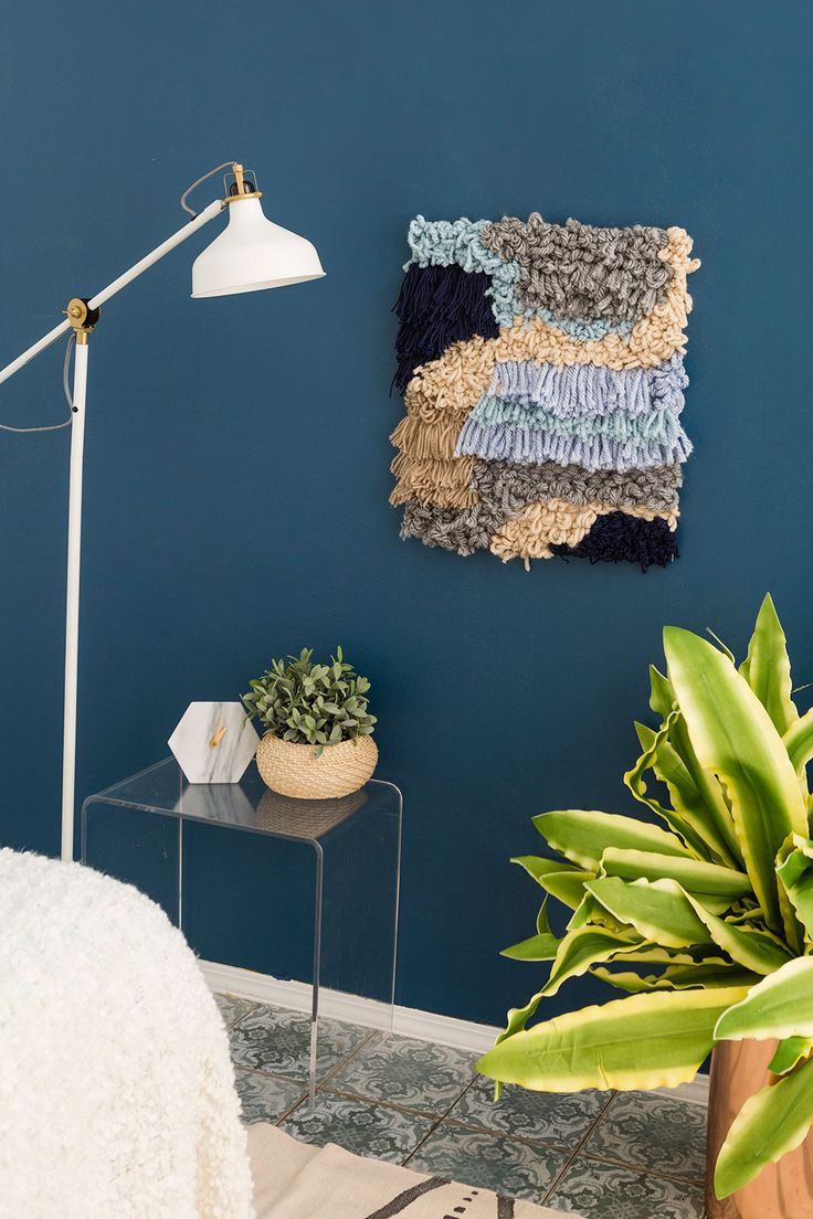 Update Your Wall Decor With This Weaving Hack via Brit   Co