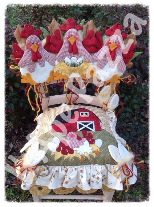 Cartamodelli galline primavera 2014