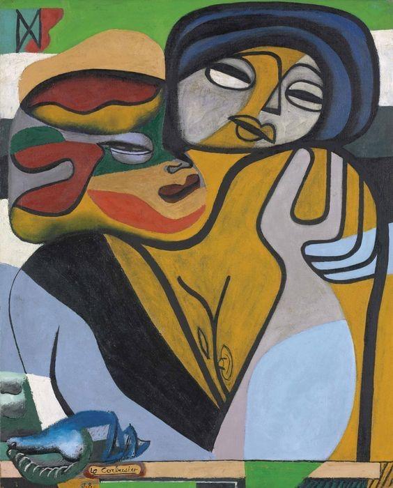 Les deux soeurs', 1938 Le Corbusier