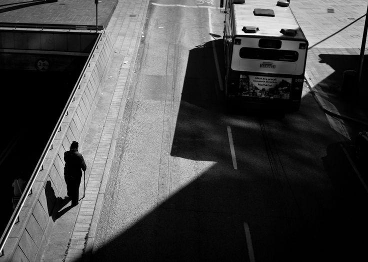 Lonely walk by Thomas Granbacka