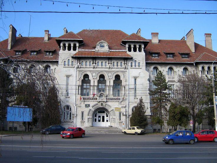 Palatul Agriculturii, Braila. (Palace agriculture)