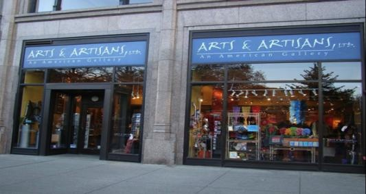 Arts & Artisans. Chicago's largest arts and crafts store!    Another favorite