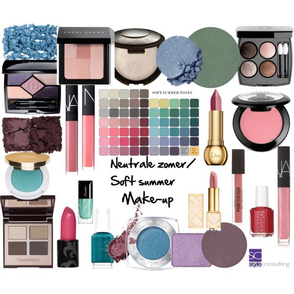 Make-up. Neutrale zomer. Soft summer. by roorda on Polyvore featuring Charlotte Tilbury, Bobbi Brown Cosmetics, Christian Dior, NYX, Becca, Kjaer Weis, L'Oréal Paris, Kevyn Aucoin, Isaac Mizrahi and NARS Cosmetics