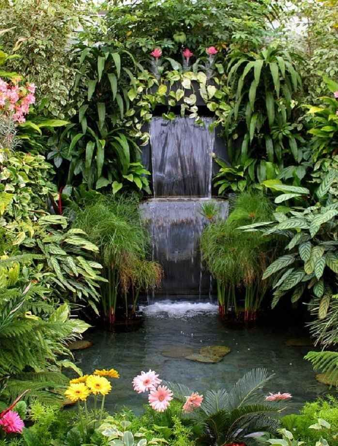 Best 20 cascade pour bassin ideas on pinterest fontaine for Bassin jardin avec cascade