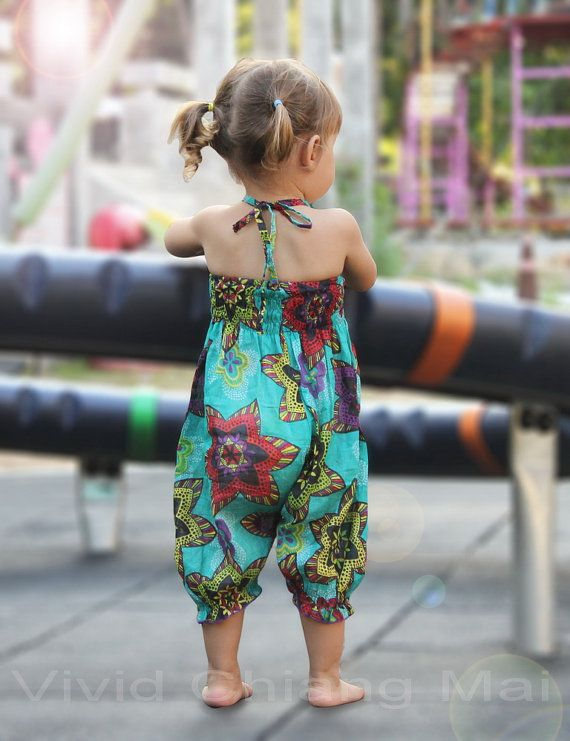 Toddler girls romper jumpsuit outfits overalls size by VividDress