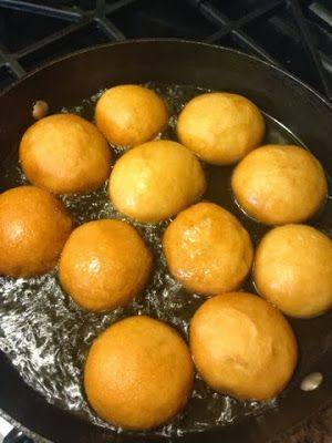 Bofrot/Boflot/Bofloat = Ball Float. Recipe with roots from Ghana.