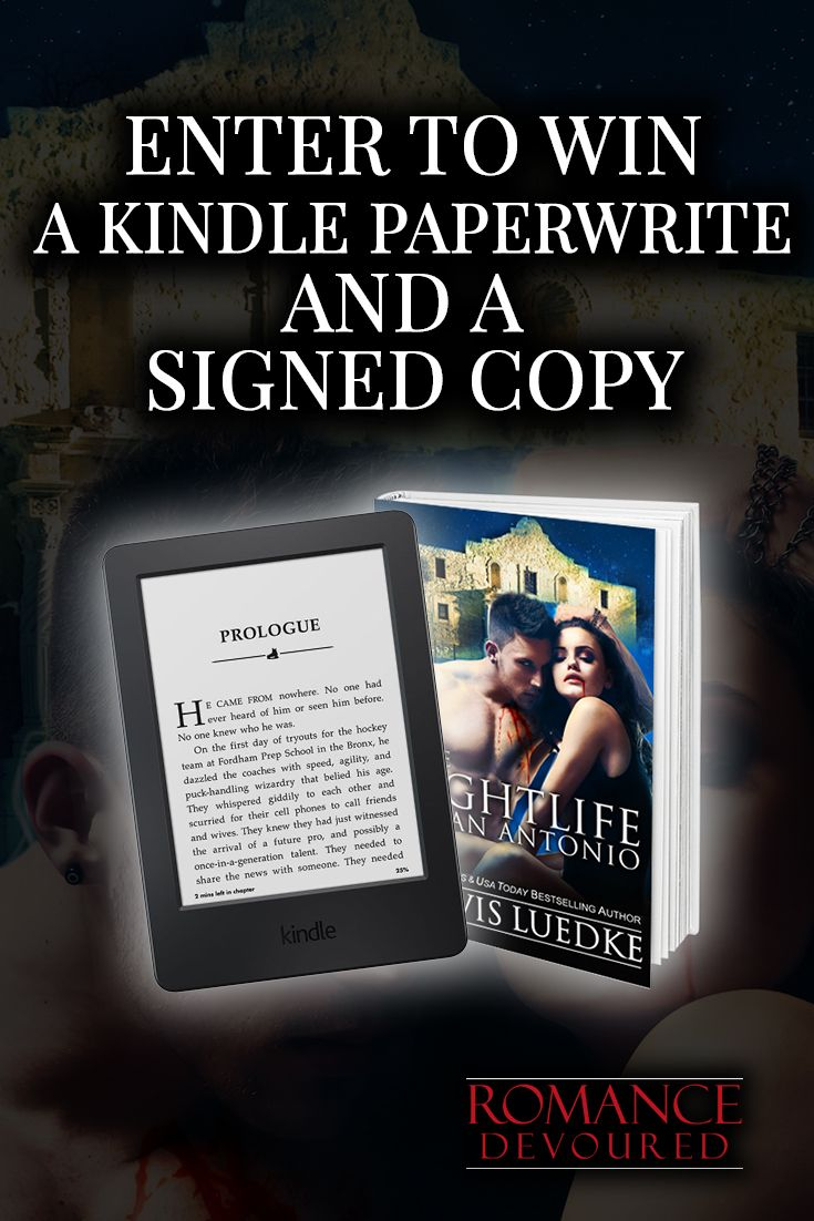 Win a Kindle Paperwhite, Signed & eBook Copies from NY Times Bestselling Author Travis Luedke