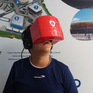 YDreams apresenta Parque Olimpico em Realidade Virtual em parceria com a Empresa Olímpica Municipal durante o Rio Open de tênis