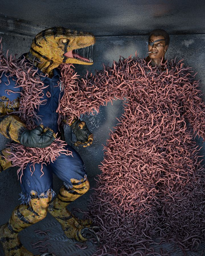 maggots eating flesh - photo #21