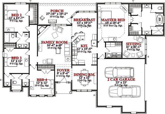 Les 374 meilleures images du tableau plans de maison for Concevoir plan maison