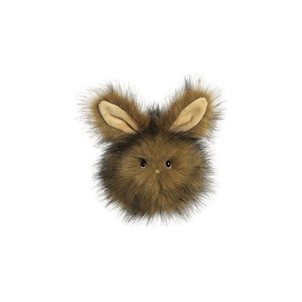 Brown Stuffed Bunny Fuzzy Wuzzy | Aurora World | Stuffed Safari ($8.99) ❤ liked on Polyvore featuring animals and toy