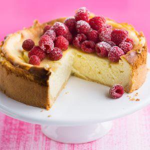 Juustokakku uunissa - Cheesecake