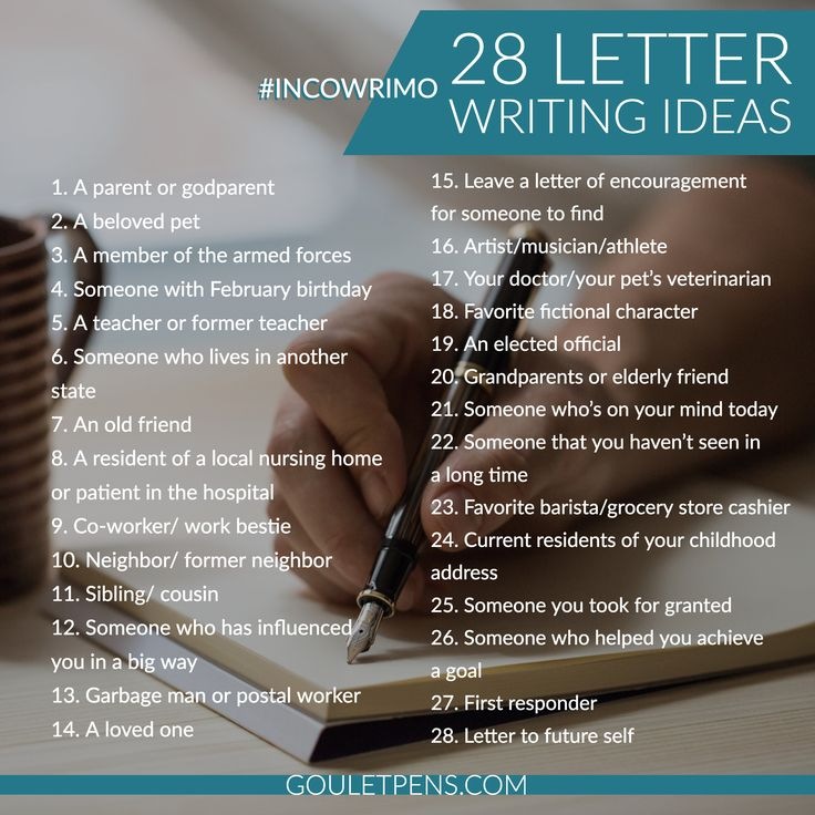 modern format of letter writing%0A InCoWriMo       Inspiration and Ideas for Your Month of Letter Writing