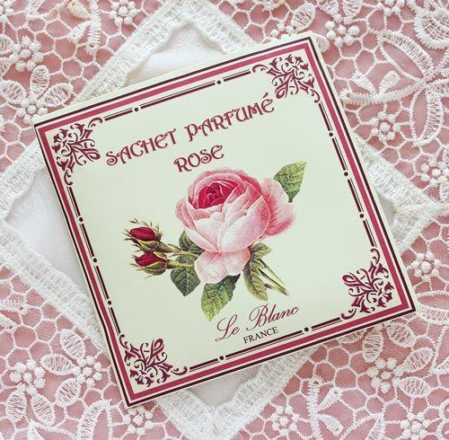フランス製の香水から作られた品のある香りのサシェです。