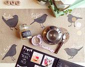 Vassoio colazione/pranzo verde menta di Podalirio su Etsy