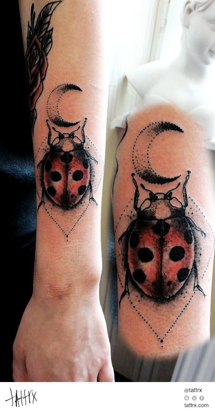 17 best ideas about ladybug tattoos on pinterest infinity tattoos butterfly tattoos and pet. Black Bedroom Furniture Sets. Home Design Ideas
