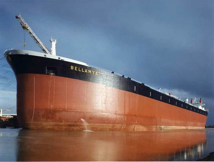 Bellamya, ultra large crude carrier of 553,662 deadweight tonnage